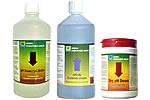 pH- und pH+ Produkte
