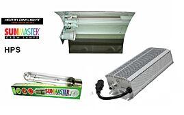 Lampenset 600W HPS Horti Dim / Glanz-Reflektorschirm