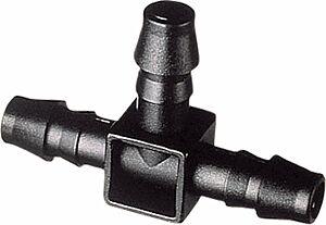 Schlauchabzweigung 8-8-8 mm  T- Stück