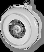 Rohr-Ventilator CAN FAN RKW 160 L mit Temperatursteuerung