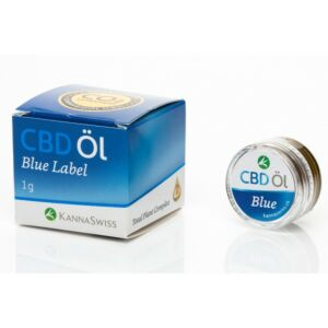 CBD Öl Blue Label 1 g mit 20 % Cannabidiol