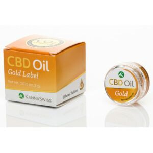 CBD Öl Gold Label 1g mit 30 % Cannabidiol