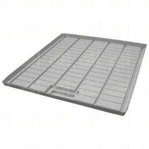 Ebb & Flow-Tisch-Einsatz 1200 x 1000 x 61 mm / 3 Seiten geschlossen mit Sumpf