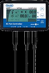 CanFan LCD EC Fan Controller / Temp, RH