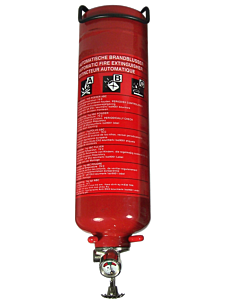 Feuerlöscher automatisch 1 kg Pulver