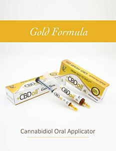Plus CBD 3g / 25% Applicator GOLD / Spritze