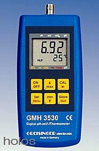 pH Messgerät Typ GMH 3530 inkl. pH-Elektrode + Temp.fü