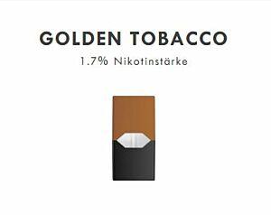 JUULpod Golden Tabacco  (4 Stk./Set)  (Aktion nur solange Vorrat)