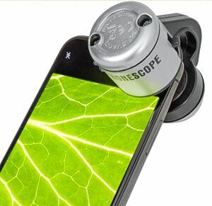 Mikroskop für Smartphone, 30-fache Vergrösserung