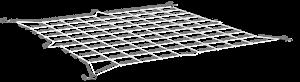 elastisches Pflanzennetz 90 x 90 cm