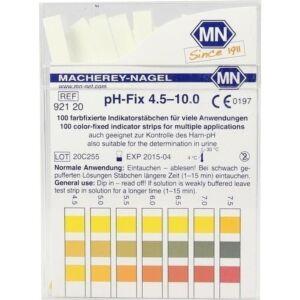 pH-Fix Indikatorstäbchen pH 4,5 - 10,0