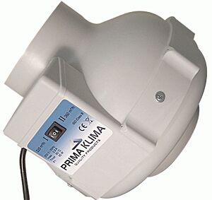 Rohr-Ventilator Prima Klima PK125 / 2-Stufen