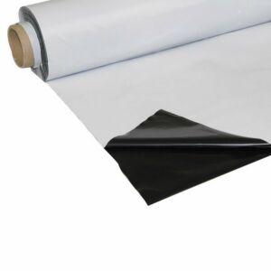 Folie schwarz/weiss, lichtdicht, 2 x 25m