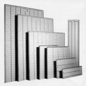 Ebb & Flow-Tisch-Einsatz 1x2 m Mittelteil
