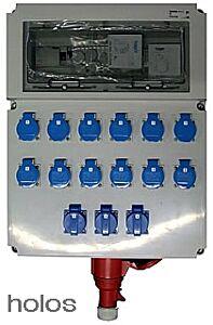 Stromverteiler für 12 x 600 Watt - Swiss Made