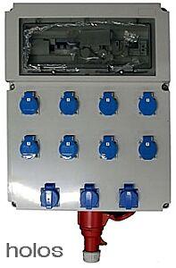 Stromverteiler für 8 x 600 Watt - Swiss Made