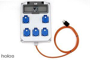 Stromverteiler für 25 x 600 Watt - Swiss Made