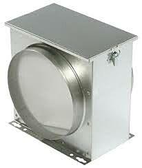Vorfilterbox 125 mm FV125 - EU3 Filter