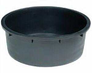 Wasserwanne PE rund, schwarz 275 Liter