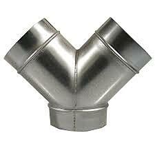 Hosenrohr 160-100-100 mm (dichte Version)