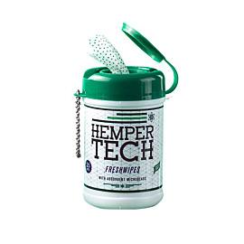 Freshwipes Hemper Tech Alcohol / 25 Tücher pro Büchse (Taschengrösse)