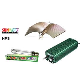 Lampenset 600W HPS Sunmaster / Adjust-a-Wings Reflektor