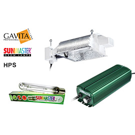 Lampenset 600W HPS Sunmaster / HORTISTAR Reflektor
