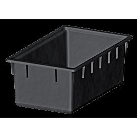 Wasserwanne PE schwarz 180 Liter